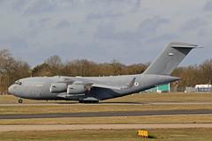 C17 (1230) UAE Air Force (boeing-boy) Tags: mikeling boeingboy c17 uaeairforce stansted