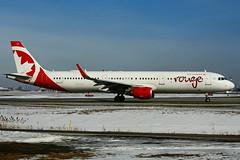 C-FJQD (Air Canada - rouge) (Steelhead 2010) Tags: rouge aircanada airbus a321200 a321 yyz creg cfjqd
