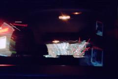 View out of the back window - Wallingford to Ballard (Moonshine and Matches) Tags: pinhole nikonpinhole kodak colorplus200 film ananlog
