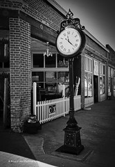Time Will Tell (Kool Cats Photography over 11 Million Views) Tags: architecture clock time oklahoma blackandwhite monochrom monochrome bw
