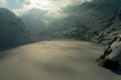 Grimsel in Winter: Frozen lake (1/3) (jaeschol) Tags: europa europe grimsel kantonbern kontinent schweiz suisse switzerland