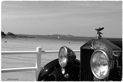 spirit of ecstasy (jpbordais) Tags: mer sea voiture automobiles plage ancienne cars