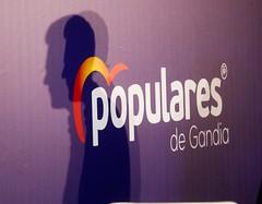 Presentación del candidato a la alcaldía de Gandia, Víctor Soler