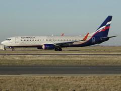 "VQ-BHC, Boeing 737-8LJ(WL), 41220 / 6887, Aeroflot - Russian Airlines, ""P. Nakhimov / П. Нахимов"", CDG/LFPG 2019-02-15, taxiway Delta. (alaindurandpatrick) Tags: 412206887 vqbhc 737 738 737800 737nextgen boeing boeing737 boeing737800 boeing737nextgen jetliners airliners su afl aeroflot aeroflotrussianairlines airlines cdg lfpg parisroissycdg airports aviationphotography"