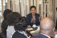 DSU Breakfast Meeting (African Peer Review Mechanism (APRM)) Tags: dsu delaware state university aprm