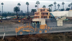 (Rich T. Par) Tags: pomona phillipsranch socal southerncalifornia losangelescounty lacounty constructionsite california palmtrees tree suburb dirt civilengineering sky frontloader tubes pipes heavyequipment excavator grader storagebin cargocontainer lumber house forklift crane plywood road constructionvehicles tractor civilengineers steamroller roadroller architecture