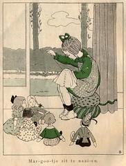 sijtje  Aafjes  Nieuwe oogst voor de kleintjes 1925, ill pg  26 (janwillemsen) Tags: sijtjaafjes bookillustration 1925 schoolbook childrensbook