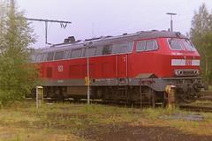DB 218485-1 (bobbyblack51) Tags: db class 218 krauss maffei bb diesel locomotive 2184851 bw hamburg 1 eidelstadt 2001