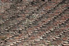 Diagonally (carlos_ar2000) Tags: ladrillo brick muro pared wall diagonal diagonally color colour surreal arquitectura architecture calle street remediosdeescalada buenosaires argentina