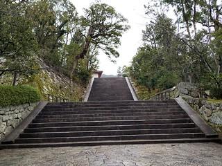 Escaleras templo película último samurái