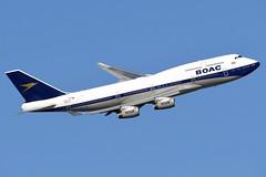 BRITISH AIRWAYS G-BYGC (BOAC RETRO LIVERY) B747-436 EGLL 26/02/2019 (SimonBaker185) Tags: