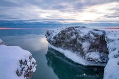 Lake Ontario Sunrise (Bill McDonald 2016) Tags: billmcdonald canada lakeontario naturephotography ontario lake water