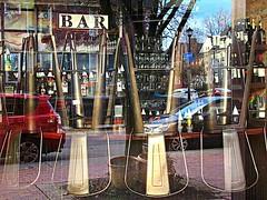 Bar window (DannyAbe) Tags: bar window reflections rochester furniture