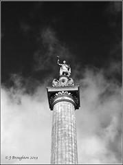 Blenheim 2019_4 (johnzsv) Tags: palace blenheim blenheimpalace statue column oxfordshire oxford olympus em1mk2 blackandwhite monochrome victory