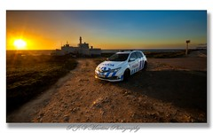 Lighthouse/Farol Cabo Raso, Sunset / Por do Sol (P.J.V Martins Photography) Tags: sunset pds dusk landscape seascape coast lighthouse police car carro vehicle cascais sintra portugal