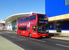 SLN 12388 - YX16OHD - COMMERCIAL WAY EAST GREENWICH - TUE 26TH FEB 2019 (Bexleybus) Tags: east greenwich ikea bq commercial way se10 retail park bus lane stagecoach london selkent adl dennis enviro 400 mmc tfl route 472 12388 yx16ohd hybrid