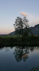 Jägerberg (Aah-Yeah) Tags: burning sky sonnenuntergang sunset abendrot achental chiemgau bayern rückhaltebecken jägerberg