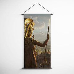 Assassin's Creed 16 Odyssey Decorative Banner Flag for Gamers (gamewallart) Tags: background banner billboard blank business concept concrete design empty gallery marketing mock mockup poster template up wall vertical canvas white blue hanging clear display media sign commercial publicity board advertising space message wood texture textured material wallpaper abstract grunge pattern nobody panel structure surface textur print row ad interior