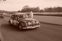 Jaguar Mk1 1956, HRDC Track Day, Goodwood Motor Circuit (3) (f1jherbert) Tags: sonya68 sonyalpha68 alpha68 sony alpha 68 a68 sonyilca68 sony68 sonyilca ilca68 ilca sonyslt68 sonyslt slt68 slt sonyalpha68ilca sonyilcaa68 goodwoodwestsussex goodwoodmotorcircuit westsussex goodwoodwestsussexengland hrdctrackdaygoodwoodmotorcircuit historicalracingdriversclubtrackdaygoodwoodmotorcircuit historicalracingdriversclubgoodwood historicalracingdriversclub hrdctrackday hrdcgoodwood hrdcgoodwoodmotorcircuit hrdc historical racing drivers club goodwood motor circuit west sussex brown white sepia bw brownandwhite