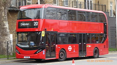 P1150183 2545 YX19 ORW at Walthamstow Central Station Bus Station Walthamstow London (LJ61 GXN (was LK60 HPJ)) Tags: hackneycommunitytransportgroup ctplus alexanderdennistrident2hybrid enviro400hybrid enviro400hhybrid enviro400h enviro400hybridcity enviro400hhybridcity enviro400hcity e400h city 105m 10500 10500mm 2545 yx19orw j4357