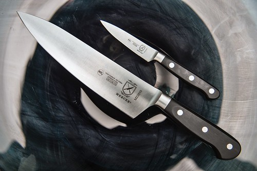 Mercer kitchen knives set