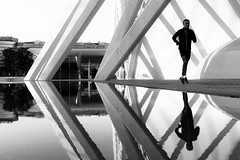 Valencia (tomabenz) Tags: noiretblanc puddlegram people streetshot mono reflection valencia sony a7 street photography urban spain monochrome a7rm2 human geometry bnw urbanexplorer zeiss streetview black white europe noir blanc bw blackandwhite humaningeometry sonya7rm2 sonya7 streetphotography