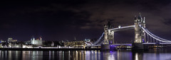 London Bridge (AaronCarterUk) Tags: london londonist england nightscape uk nightphotography travel night skyline bridge river londonbridge reflections