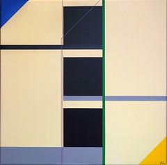 KONSTRUKTION KH-M 1  2018 (HolgerArt) Tags: konstruktivismus gemälde kunst art acryl painting malerei farben abstrakt modern grafisch konstruktiv