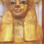 Gold Mask, Egyptian Museum, Cario, Egypt thumbnail