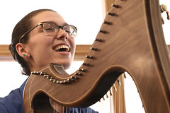 2 of Harps 1606 (Tony Withers photography) Tags: musicians harpists duo adel karina wilson music