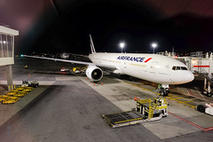 Air France 777 (A. Wee) Tags: newyork ny jfk airport 纽约 机场 airfrance 法国航空 boeing 777