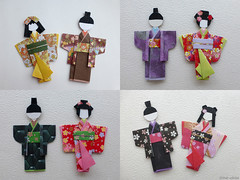 Japanese paper doll (irina_chisa) Tags: doll paperart origami