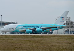 """9H-MIP Hi Fly Malta Airbus A380-800  """"Save the Coral Reefs"""" (czerwonyr) Tags: 9hmip hi fly malta airbus a380800 savethecoralreefs"""