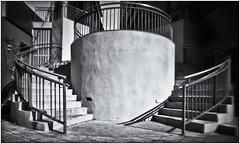 Fotografía Estenopeica (Pinhole Photography) (Black and White Fine Art) Tags: fotografiaestenopeica pinholephotography pinhole estenopo estenopeica stenopeika sténopé aristaedu100fomapan kodakd76 escaleras stairs bn bw sanjuan oldsanjuan viejosanjuan puertorico niksilverefexpro2 lightroom3