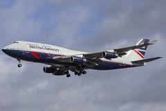 G-BNLY // British Airways (Landor Scheme) // B747-436 // London Heathrow (SimonNicholls27) Tags: gbnly landor british airways heathrow ba lhr 747400 747 jumbo