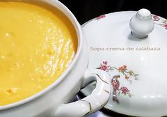 sopa crema de calabaza - Diaz De Vivar Gustavo (Diaz De Vivar Gustavo) Tags: sopa cocina calentita sopera calabaza organica frios otoño amor en la