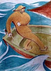IMG_1514 Henri Gabriel Ibels. 1867-1936. Paris Le pêcheur. The fisherman. Brest Musée des Beaux Arts (jean louis mazieres) Tags: peintres peintures painting musée museum museo france bretagne brest muséedesbeauxarts