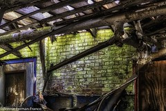 2019-03-13 ABANDONED INTERIOR (Bonnie Forman-Franco) Tags: abandoned abandonedphotography abandonedphoto abandonedbuilding abandonedbuildings decayed rottedwood rottedroof photoladybon hdr hdrphotography aurorahdr2019 windows doors birdnest nikon nikonphotography nikond850 nikon2470 nikcollection weeds boardedbuildings