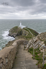 South Stack Lighthouse. (Explored). (miketonge) Tags: anglesey wales lighhouse southstack seascape irishsea ynsmon steps rocks d850 2470