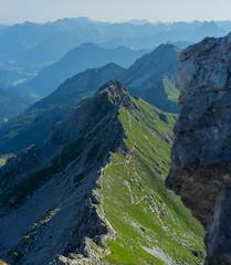 Mindelheimer Klettersteig (gerhardschorsch) Tags: ferrata klettern klettersteig steig berge bergspitze bergsteigen mindelheimer zeiss za ilce7r a7r available lichtundschatten fe55mmf18za f18 festbrennweite vollformat landschaft landscape alpen alm wanderweg kleinwalsertal 55mm