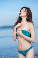 DSC_9172 (Robin Huang 35) Tags: 謝立琪 kiki 沙巴 sabah 馬來西亞 malaysia 丹絨亞路 海邊 海灘 沙灘 beach 泳裝 比基尼 bikini 遊拍 人像 portrait lady girl nikon d850 亞庇縣 my 亞庇
