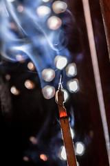Smoke & Ashes (sdupimages) Tags: hotorcold sigma macro glowing smoke macromonday encens hot
