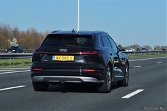 2019 Audi e-tron (NielsdeWit) Tags: nielsdewit car vehicle a12 snelweg highway driving audi etron suv 2019