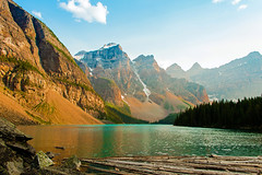 Light Fades on Moraine Lake (Jason.Hardin) Tags: calgary canada rocky mountains moraine lake ten peaks valley banff national park sunset
