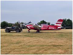 MS 880 Rallye - 10796 - F-BPGV (Aerofossile2012) Tags: ms880 rallye 10796 fbpgv jeep car avion aircraft aviation meeting airshow laferté 2017