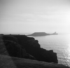 Worms Head 0010s (Phil John (Swansea)) Tags: swansea gower wormshead zeissikon fomapan100 ilfosol3 homedeveloped nofilter noshade mediumformat 6x6 group6x6 120film nettar