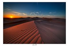 Deserto (gvolpe) Tags: africa desert duna dune landscape marocco sabbia sun sunrise