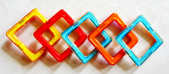 Magnetic building squares for young children (Monceau) Tags: magnetic building squares colorful plastic youngchildren 360365 365picturesin2018 365the2018edition 3652018 day360365 26dec18 macro