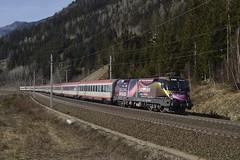 1116 170, IC 690 ( Wien Westbf. -> Villach ). Kolbnitz (M. Kolenig) Tags: 1116 intercity tauernbahn baum berg