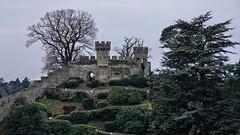 Conqueror's Fortress - Warwick Castle (dksesha) Tags: seshadri dhanakoti harita vilambisamvatsara panasonicdmcg6 panasonicg6 warwickcastle owl castle sesh seshfamily haritasya urvashi panasonic dmcg6 g6 birdsofprey warwick